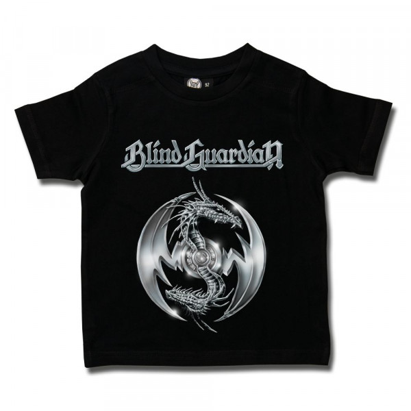 Blind Guardian (Silverdragon) Kids T-Shirt mit Aufdruck in multicolor auf Metal-Kids Markenware