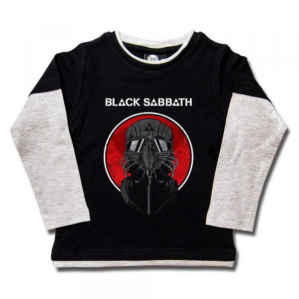 Black Sabbath (2014) Kids Skater Shirt mit Aufdruck in multicolor auf Metal-Kids Markenware