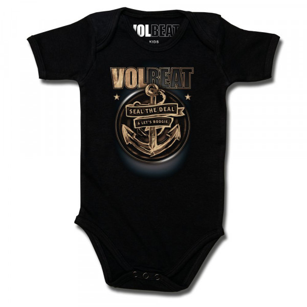 Volbeat (Anchor) Baby Body mit Aufdruck in multicolor auf Metal-Kids Markenware