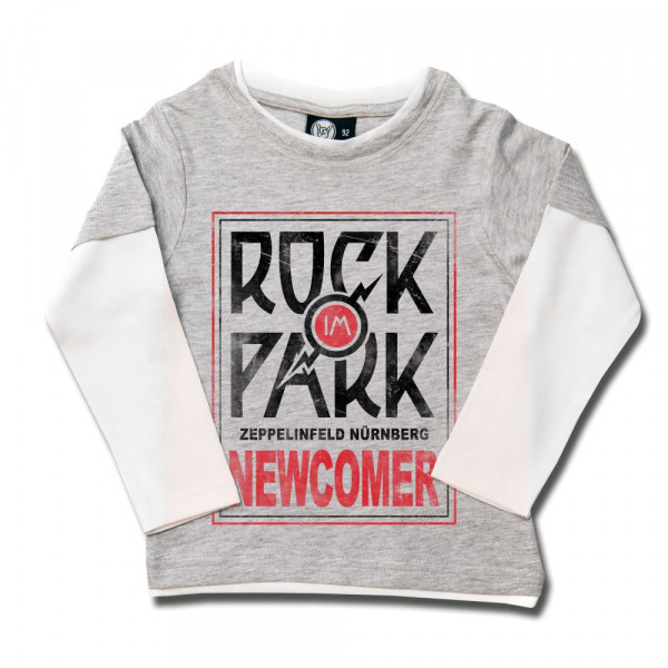 Rock im Park (2017) Kids Skater Shirt mit Aufdruck in multicolor auf Metal-Kids Markenware