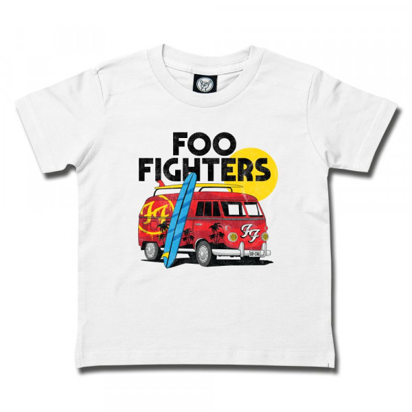 Foo Fighters (Van) Kids T-Shirt mit Aufdruck in multicolor auf Metal-Kids Markenware