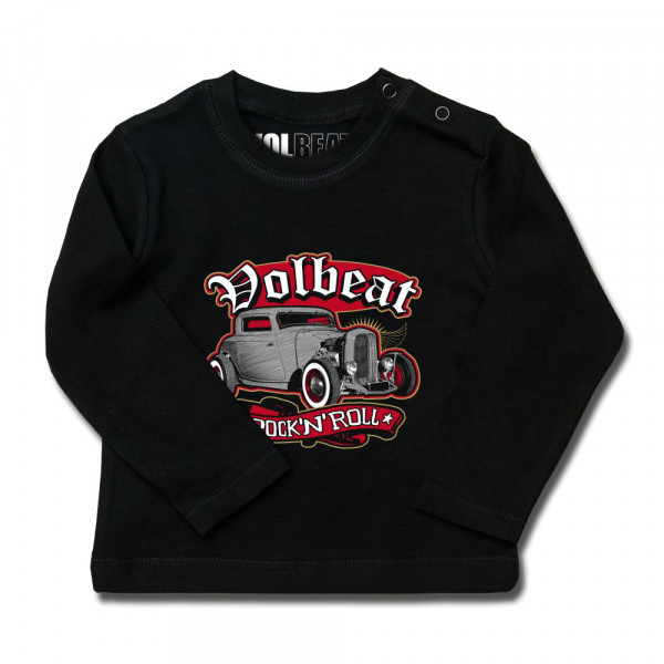 Volbeat (Rock 'n Roll) Baby Longsleeve mit Aufdruck in multicolor auf Metal-Kids Markenware