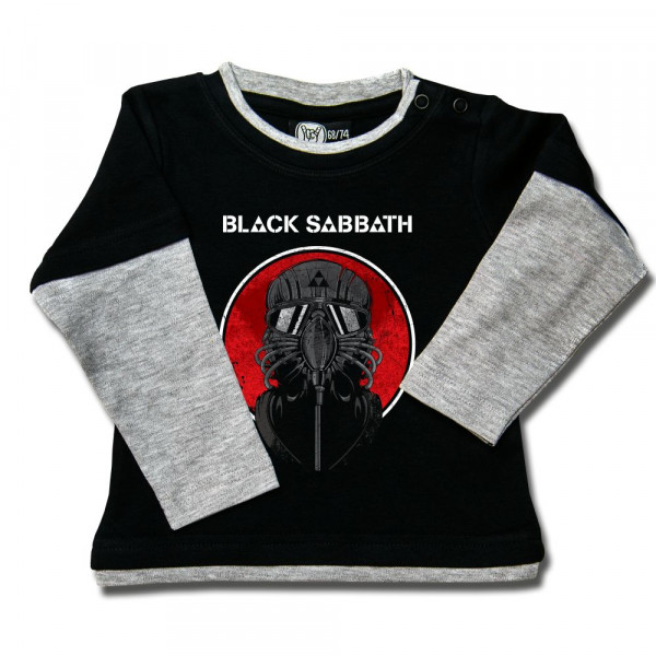 Black Sabbath (2014) Baby Skater Shirt mit Aufdruck in multicolor auf Metal-Kids Markenware