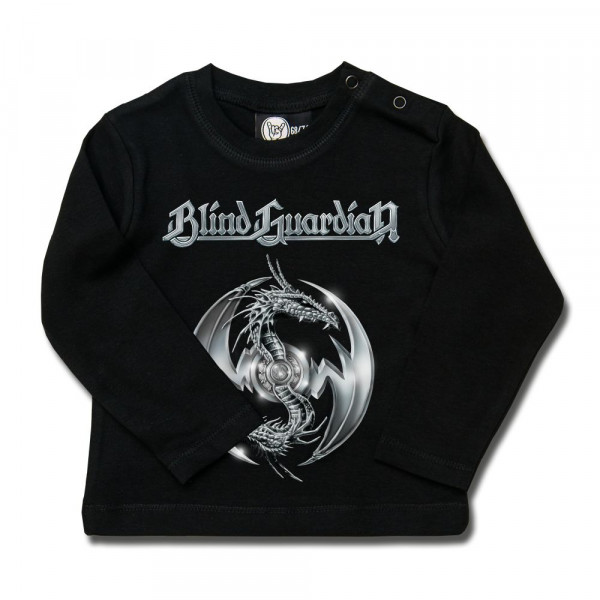 Blind Guardian (Silverdragon) Baby Longsleeve mit Aufdruck in multicolor auf Metal-Kids Markenware